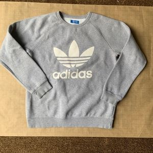 ⭐️ Grey adidas Originals Trefoil Crew Sweatshirt